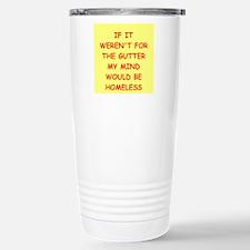 gutter mind Travel Mug