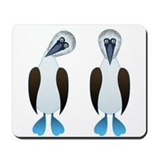 Pair of Boobys Mousepad