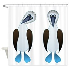 Pair of Boobys Shower Curtain