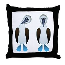 Pair of Boobys Throw Pillow