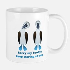Pair of Boobys text Mug