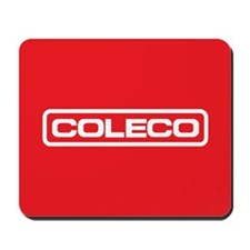 Coleco Mousepad (white on red)
