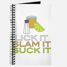Lick It Slam It Suck It Journal