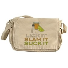 Lick It Slam It Suck It Messenger Bag
