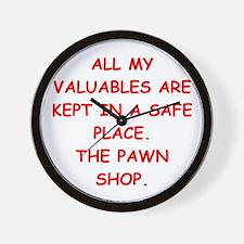 pawn shop Wall Clock