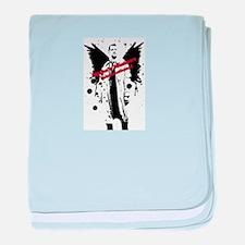 Castiel baby blanket