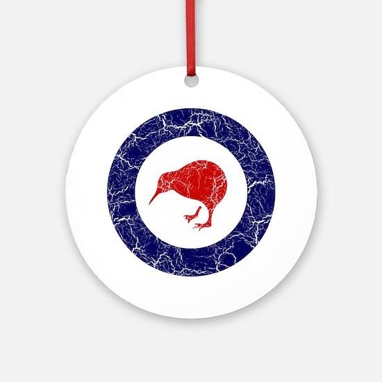 New Zealand Roundel Ornament (Round)