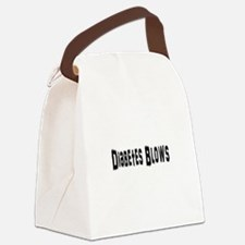 Cute Cure diabetes Canvas Lunch Bag