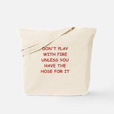 FIRE Tote Bag