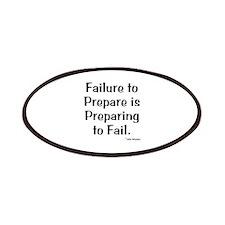 Failute to Prepare Patches