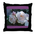 Perfect Roses Throw Pillow
