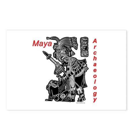 Maya Archaeology, Lintel 8 Postcards (Package of 8