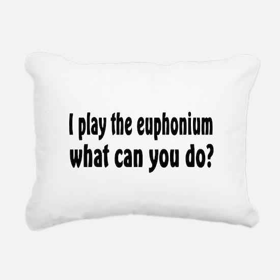 Euphonium Rectangular Canvas Pillow