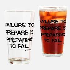 Failute to Prepare Drinking Glass