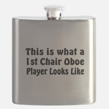 1st Chair Oboe Player Flask