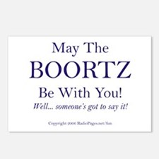 May The Boortz Be With You! Postcards (Package of