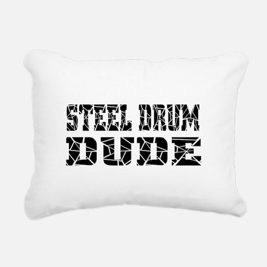 Steel Drum Rectangular Canvas Pillow