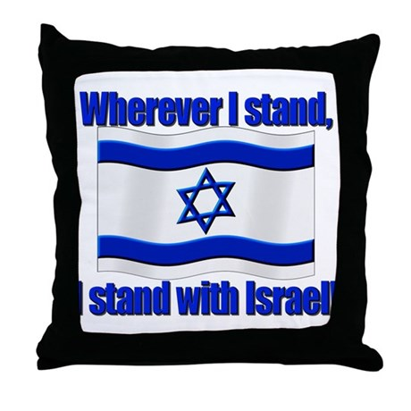 Wherever I stand! Throw Pillow