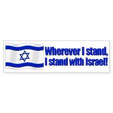 Wherever I stand! Bumper Bumper Sticker