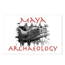 Maya Archaeology - Serpent motif Postcards (Packag