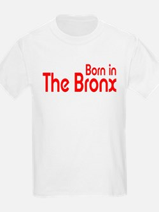 Born in The Bronx Kids T-Shirt