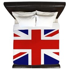 British flag King Duvet