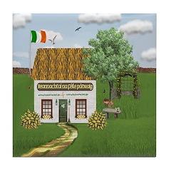 St. Patrick's Day Cottage Tile