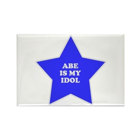 Abe Is My Idol Rectangle Magnet