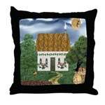 Storm Cottage Version 2 Throw Pillow