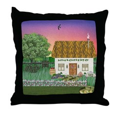 Sunrise Cottage Throw Pillow