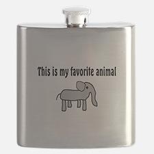 Cute Elephant Flask