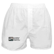 Certified Manhole Inspector Boxer Shorts