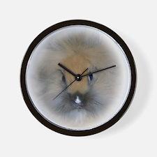 Lionhead Bunny Wall Clock