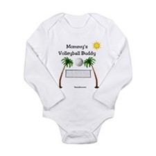 Mommy's Volleyball Buddy Body Suit