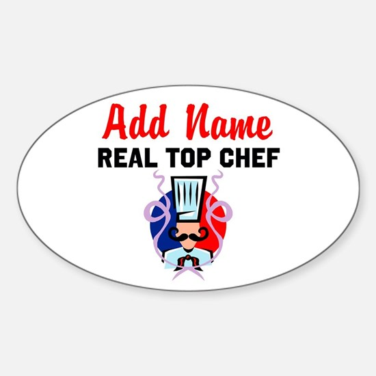 BEST CHEF Sticker (Oval)