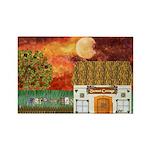 Sunset Cottage 2 Magnets (10 pack)