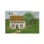 St. Patrick's Day Cottage Magnets (10 pack)