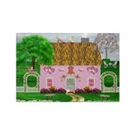 Honeymoon Cottage Rectangle Magnets (10 pack)