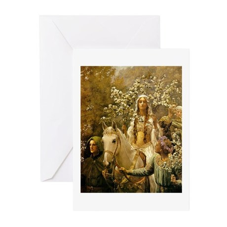 Guinevere Maying by Collier Greeting Cards (Pk of