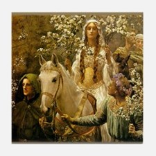 Guinevere Maying by Collier Tile Coaster