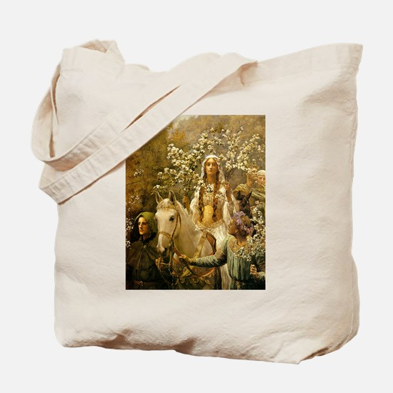 Guinevere Maying by Collier Tote Bag