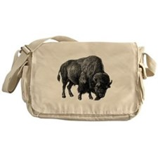 Vintage Bison Messenger Bag