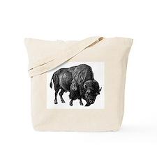 Vintage Bison Tote Bag