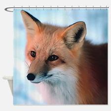 Cute Fox Shower Curtain