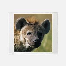 Hyena Throw Blanket