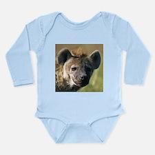 Hyena Long Sleeve Infant Bodysuit