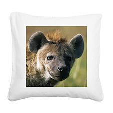 Hyena Square Canvas Pillow