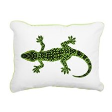 Gecko Rectangular Canvas Pillow