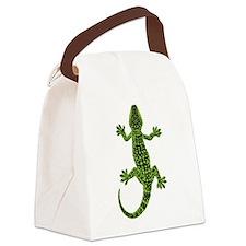 Gecko Canvas Lunch Bag