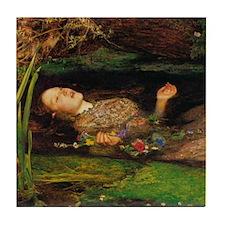 Ophelia by Millais Tile Coaster